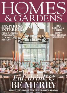 Homes & Gardens UK - January 2019