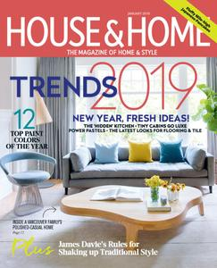 House & Home - January 2019
