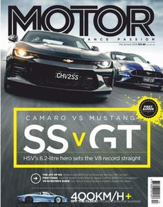 Motor Australia - Yearbook 2018