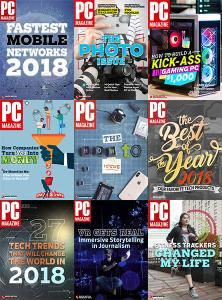 PC Magazine - Full Year 2018 Collection