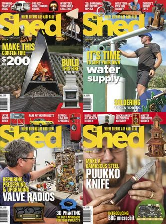 The Shed - Full Year Issues Collection 2018