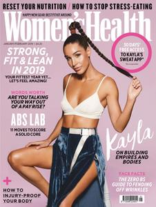 Women's Health UK - January 2019