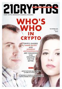 21Cryptos – Issue 13 – November 2018