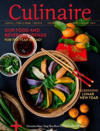 Culinaire Magazine – January/February 2019