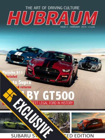 Hubraum Magazine – Issue 2 – February 2019