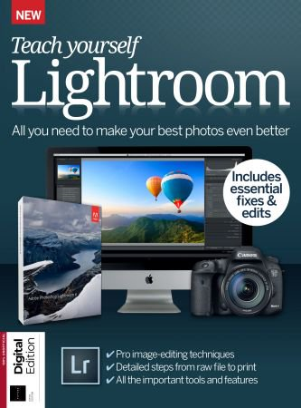 Futures Series Teach Yourself Lightroom (5th Edition) 2018