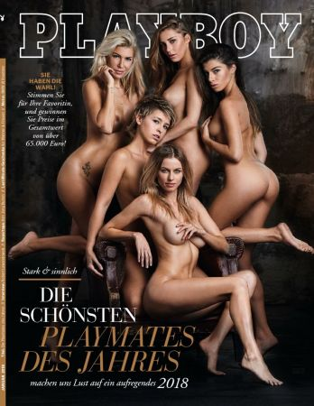 Playboy Germany - January 2018