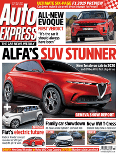 Auto Express – 13-19 March 2019
