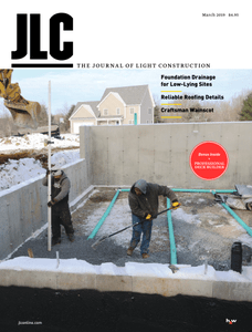 The Journal of Light Construction – March 2019