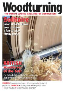 Woodturning – April 2019