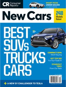 Consumer Reports New Cars – July 2019
