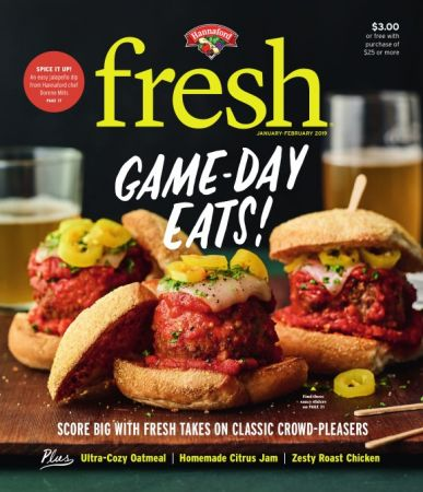 Hannaford fresh Magazine – January/February 2019