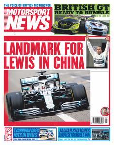 Motorsport News - April 17, 2019