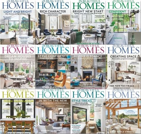 25 Beautiful Homes – Full Year 2019 Collection Issues