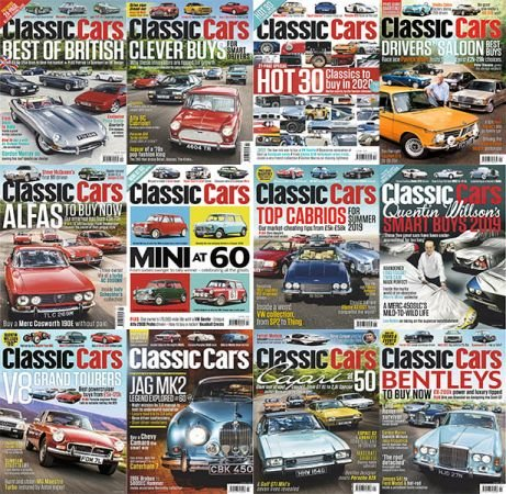 Classic Cars – Full Year 2019 Collection Issues