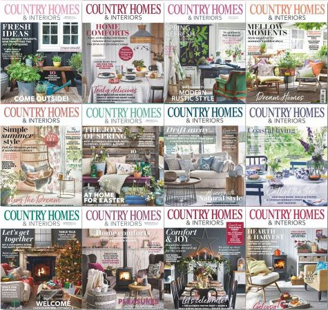 Country Homes & Interiors – 2019 Full Year Issues Collection