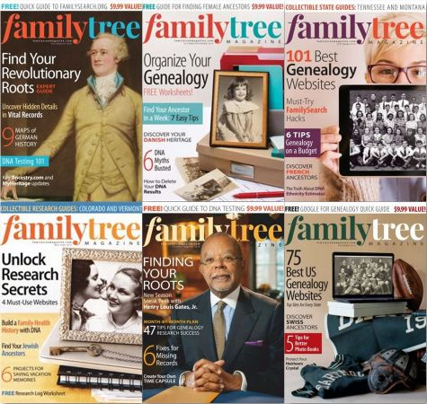 Family Tree USA – 2019 Full Year Issues Collection