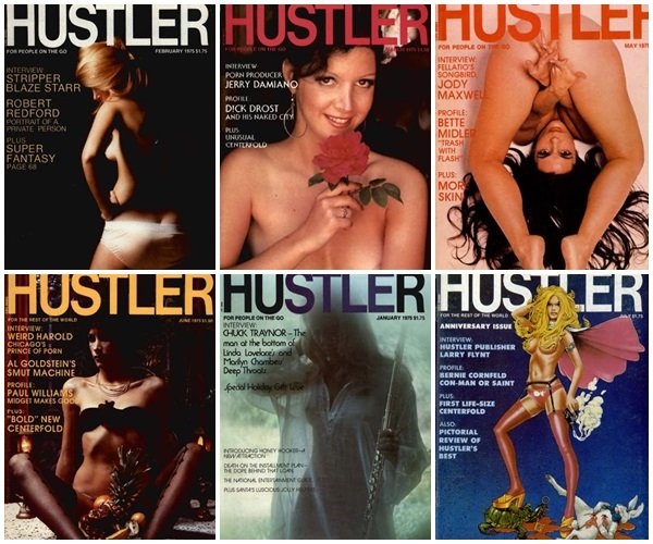 Hustler – 1975 Full Year Collection