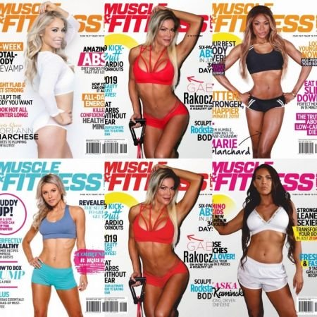 Muscle & Fitness Hers South Africa – Full Year 2019 Collection