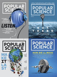 Popular Science USA – 2019 Full Year Collection