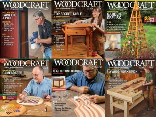 Woodcraft Magazine – Full Year 2019 Collection Issues