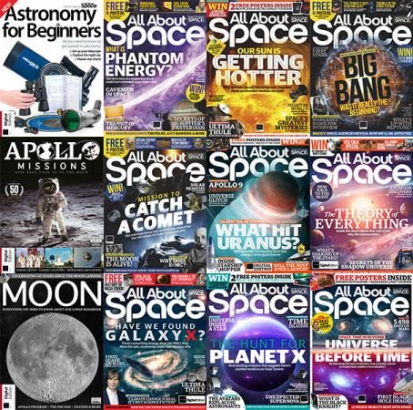 All About Space – Full Year 2019 Issues Collection