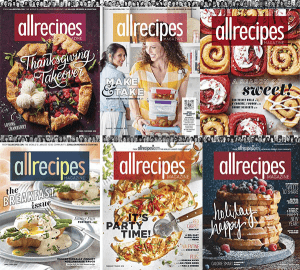 Allrecipes – 2019 Full Year Issues Collection
