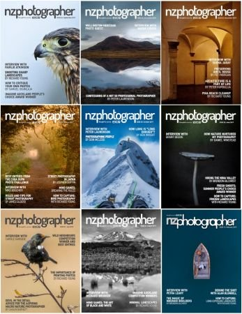 NZPhotographer – 2019 Full Year Issues Collection