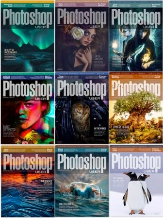 Photoshop User - 2019 Full Year Issues Collection