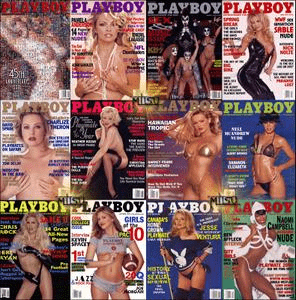 Playboy USA – Full Year 1999 Issues Collection