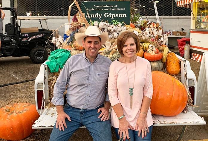 Andy Gipson & Sue Honea