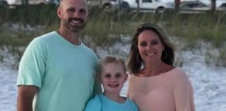 Adam Evans family