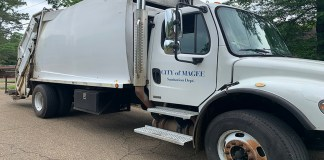 City of Magee Garbage Truck