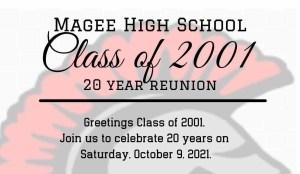 MHS Class of 2001 Class Reunion