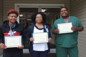 Boswell Regional Center March Employees of the Month