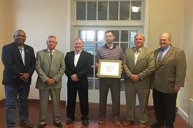 The Simpson County Board of Supervisors Receives Ally of the…