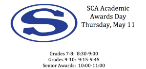 SCA Awards Day
