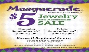 Masquerade Jewelry Sales