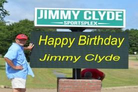 Happy Birthday Jimmy Clyde!!