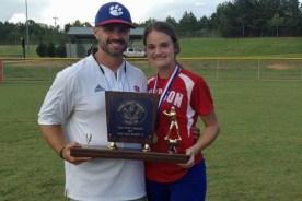 Congratulations to Coach Evans & Bella Luckey