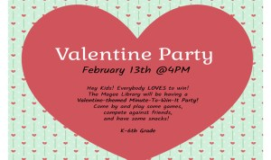 Valentine Party @ the Library
