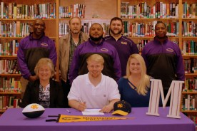 Brandon Thornton Signs to Play @ MS College