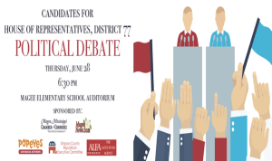 Candidates for House of Representatives, District 77 Political Debate @ Magee Elementary School Auditorium | Magee | Mississippi | United States