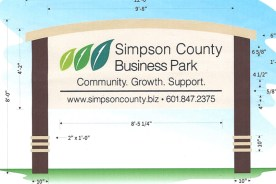 Sign Coming Soon to Business Park