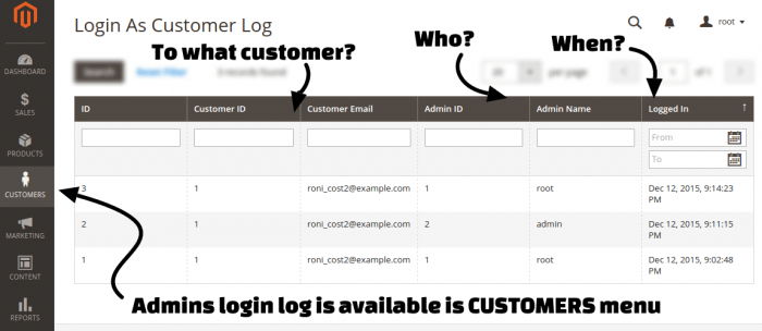 Login As Customer Magento 2 Extension by MageFan