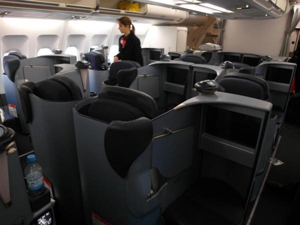 Бизнес клас на Etihad Airways