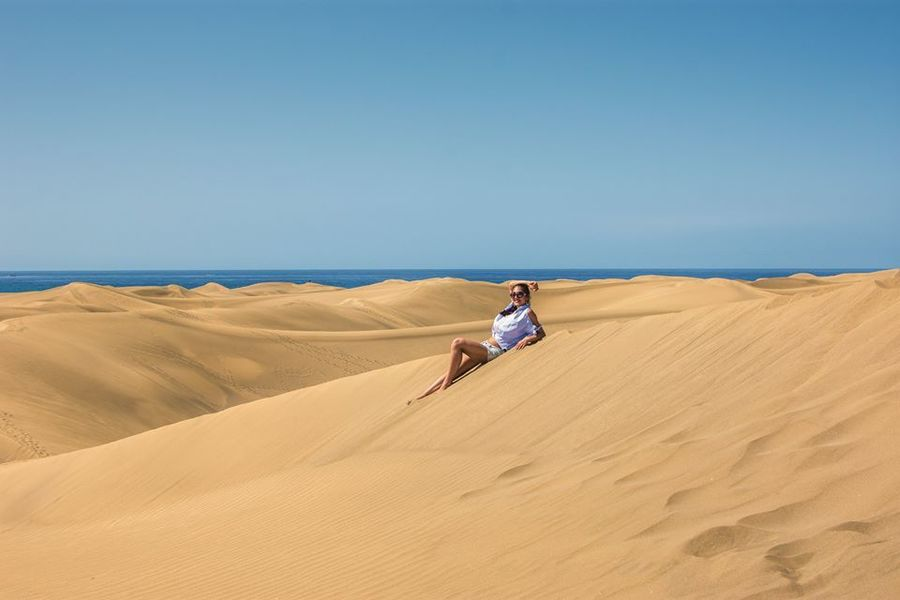 Дюните на Маспаломас. Гран Канария
