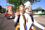 The carnival to celebrate August 17, the Indonesian Independence Day, in Magelang Municipality, on Saturday, August 24, 2013.
