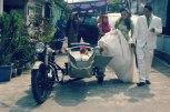 Bride Groom Vintage Ariel Motorcycle Magelang Images
