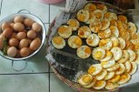 BEFORE and AFTER - Fried Eggs.